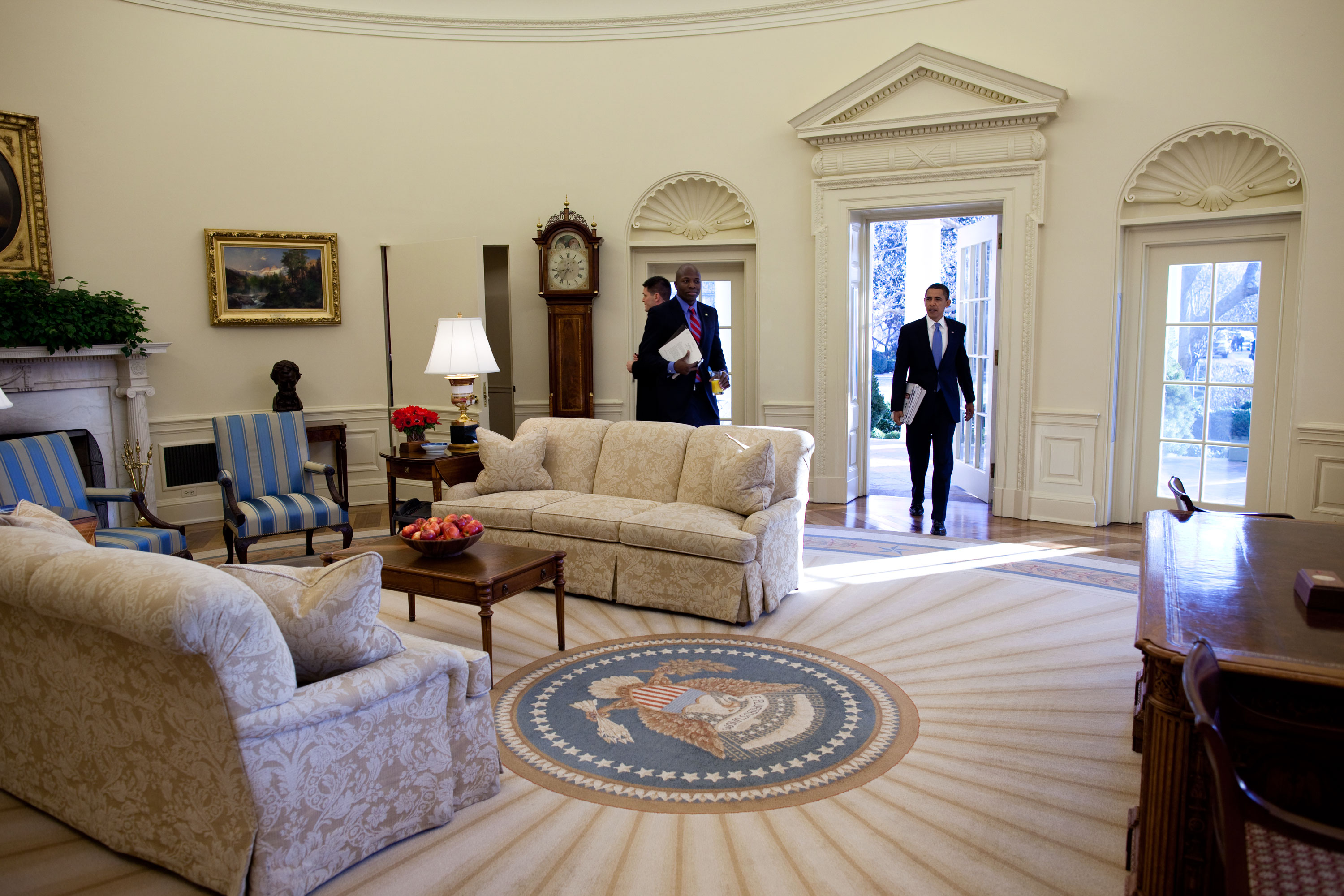 oval office photos. President Oval Office Photos